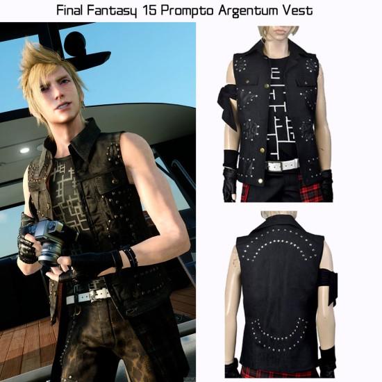 Final Fantasy 15 Prompto Argentum Vest