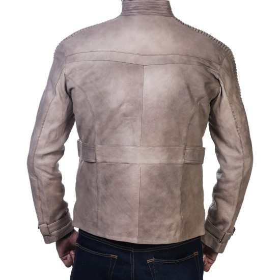 Star Wars Poe Dameron and Finn Leather Jacket