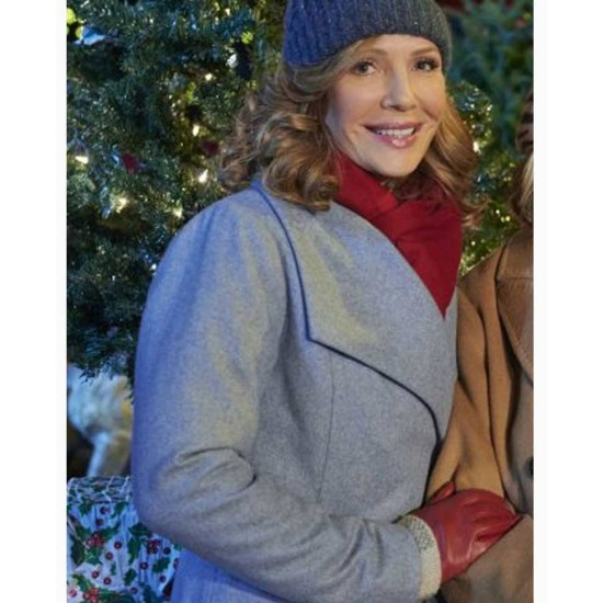 Five Star Christmas Barbara Patrick Sky Blue Coat