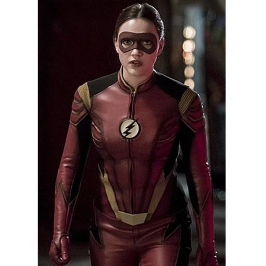 The Flash TV Series Jesse Quick Jacket