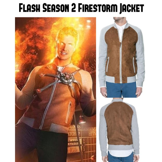 Flash Season 2 Firestorm Jacket