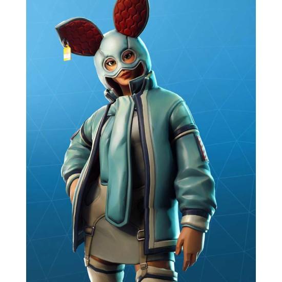 Flapjackie Fortnite Blue Jacket