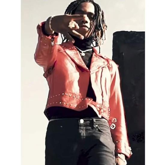 Freddy Krueger YNW Melly Studded Leather Jacket