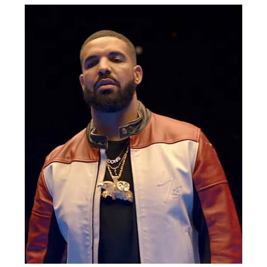 Drake Life is Good Future Leather Jacket
