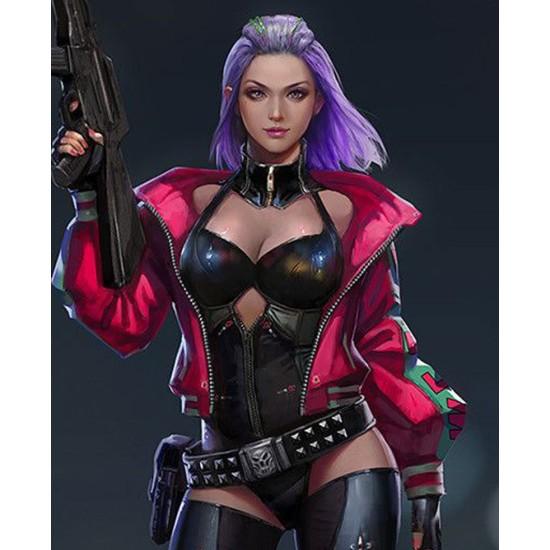 Cyberpunk 2077 Kira Madroxx Excellent We Fire Jacket