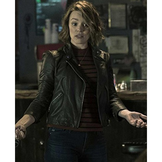 Annie Game Night Leather Jacket