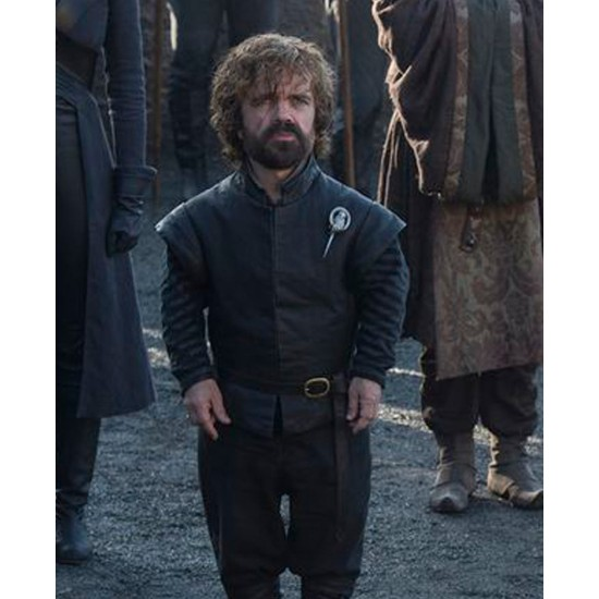Game of Thrones Season 7 Tyrion Lannister Leather Vest