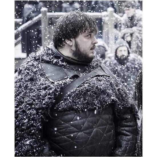 Game of Thrones S08 John Bradley Leather Coat