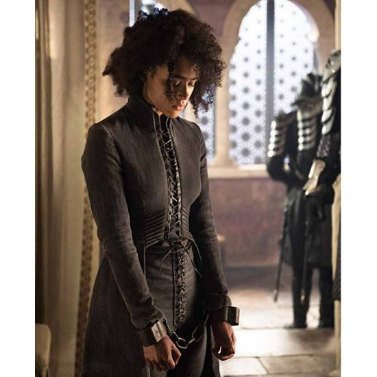 Game of Thrones Nathalie Emmanuel Trench Coat