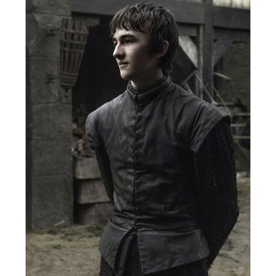 Game of Thrones Bran Stark Leather Vest