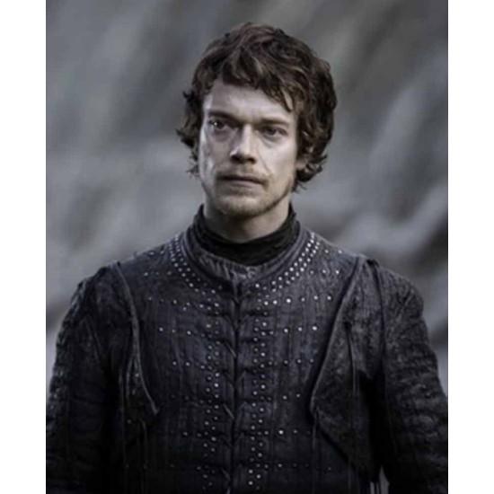 Game of Thrones Theon Greyjoy Leather Jacket