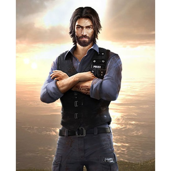 Garena Free Fire Andrew Suede Leather Vest