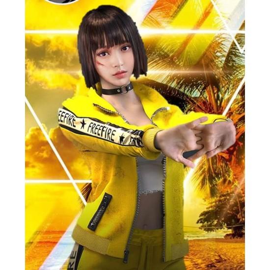 Garena Free Fire Kelly Yellow Jacket