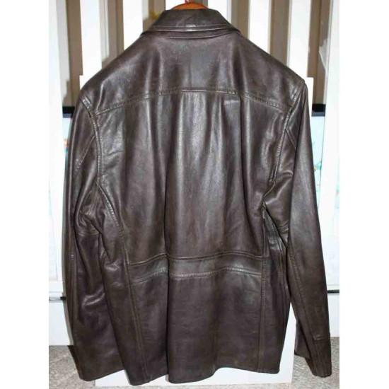 George Clooney Leatherheads Leather Jacket