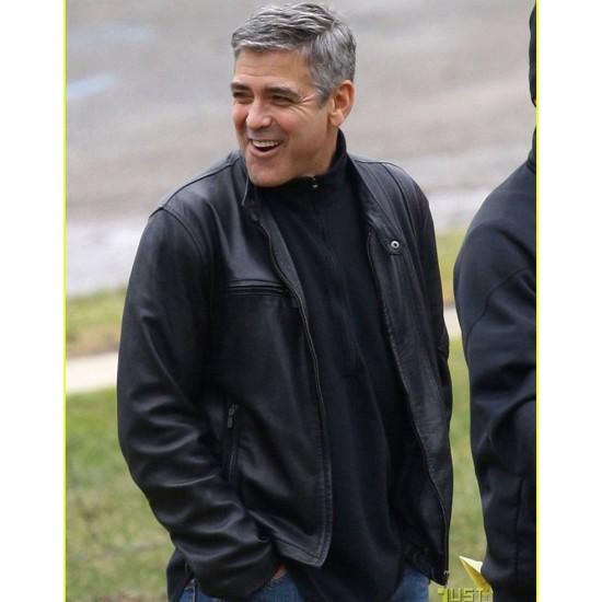George Clooney The Ides of March Mike Morris Jacket