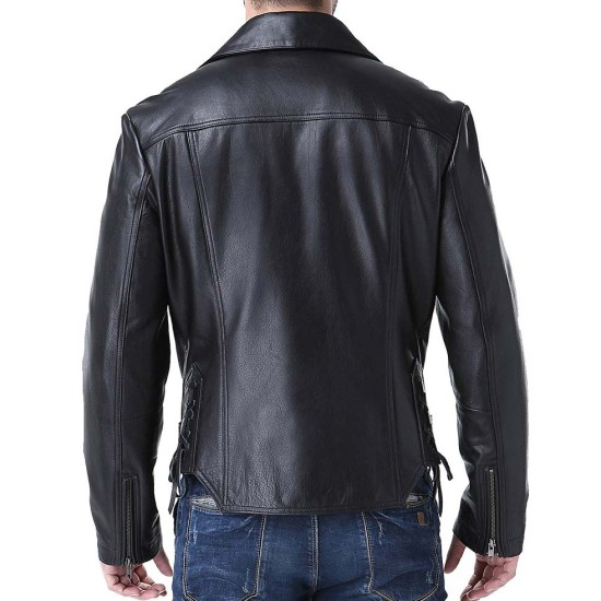 Ghost Rider Film Johnny Blaze Motorcycle Leather Jacket