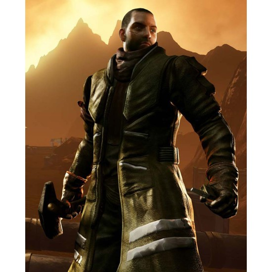Giant Bomb Red Faction Coat