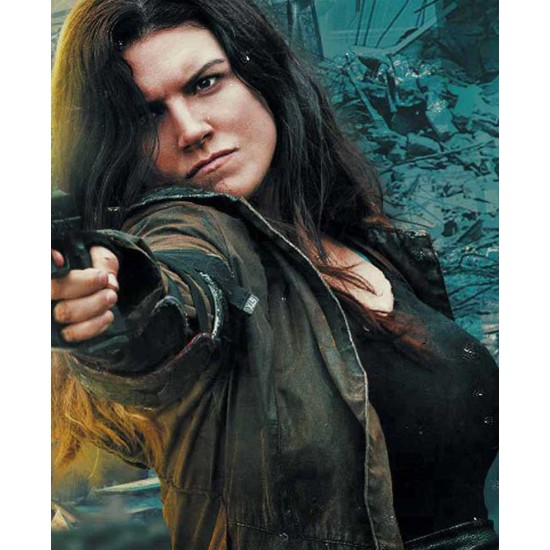Gina Carano Scorched Earth Hooded Coat