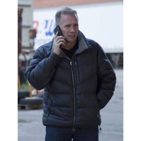 Undercover Billionaire Glenn Stearns Black Jacket