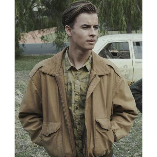 Go William Lodder Brown Leather Jacket