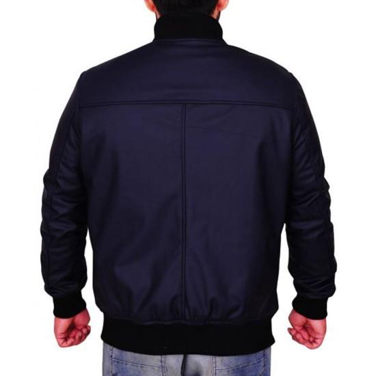 God Friended Me Miles Finer Bomber Leather Jacket