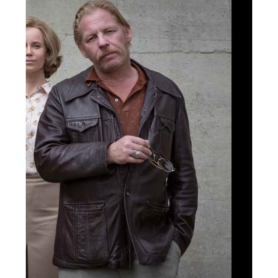 Godehard Giese The Same Sky Leather Jacket