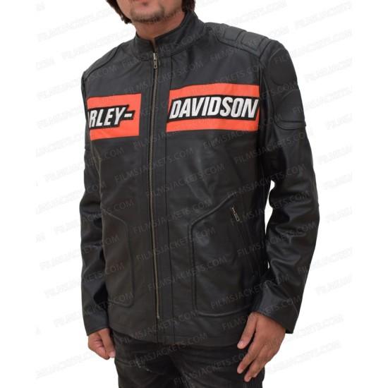 Biker Style Goldberg Harley Davidson Leather Jacket