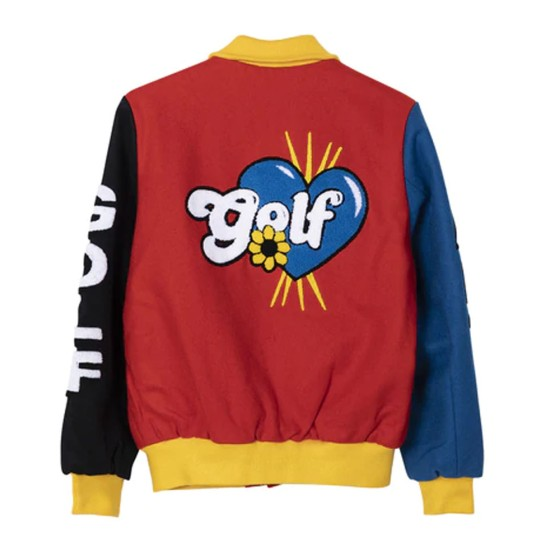 Golf Wang Primary Wool Jacket