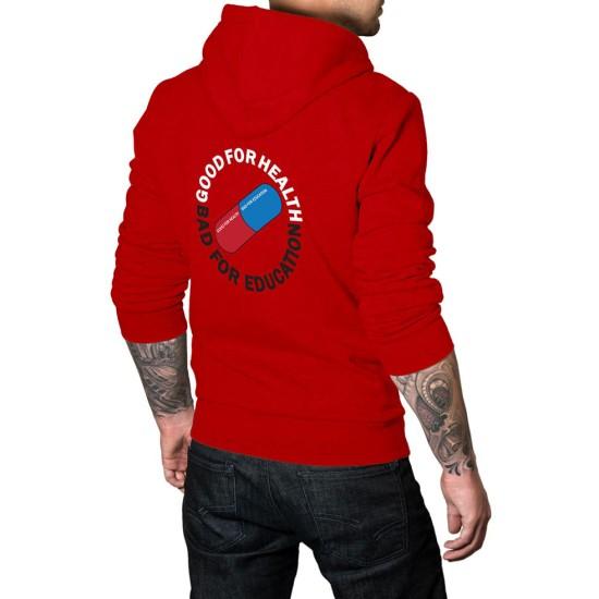 Red Akira Pill Hoodie