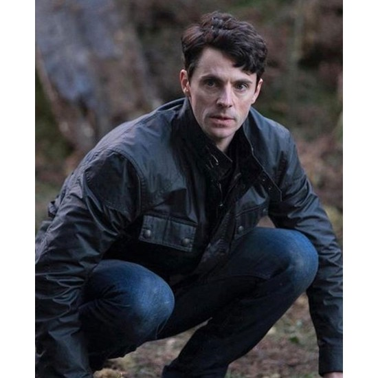 A Discovery of Witches Matthew Goode Biker Leather Jacket