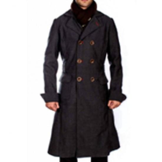Benedict Cumberbatch Sherlock Double Breasted Coat