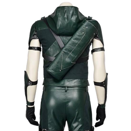 Green Arrow Season 4 Jacket Vest