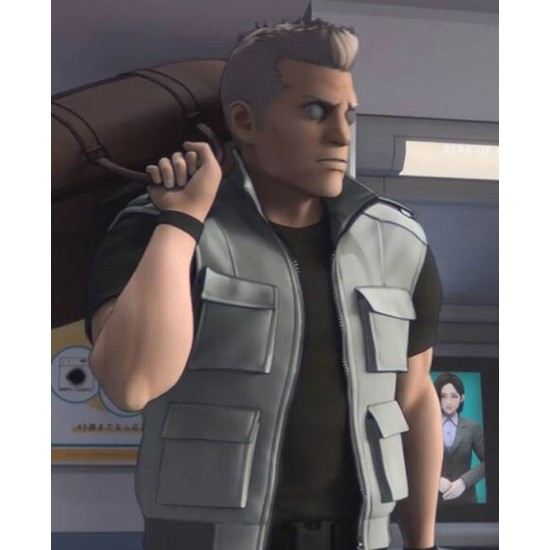 Ghost in The Shell Sac 2045 Batou Bomber Vest
