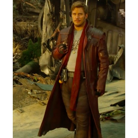 Guardians of the Galaxy Vol. 2 Star Lord Trench Coat