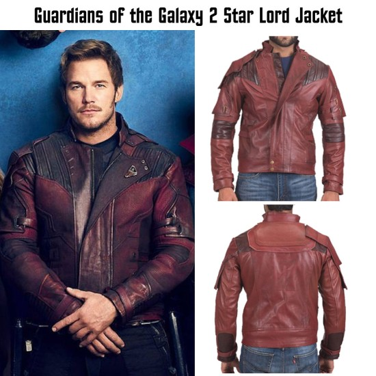 Guardians of The Galaxy 2 Film Star Lord Jacket