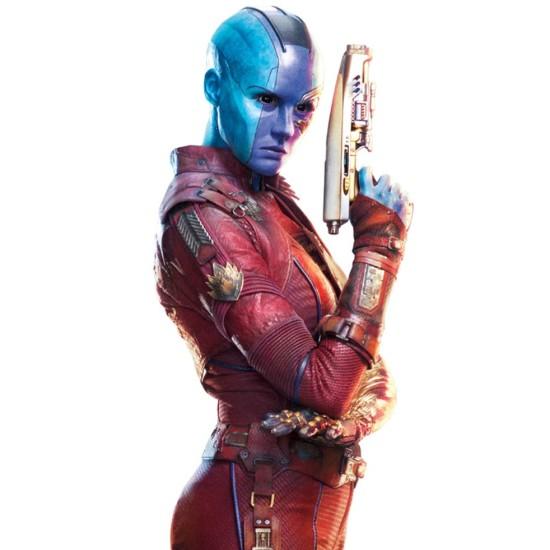 Karen Gillan Guardians of The Galaxy Vol 2 Nebula Leather Jacket