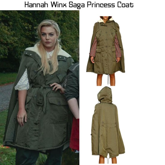 Fate Hannah Van Der Westhuysen Green Coat