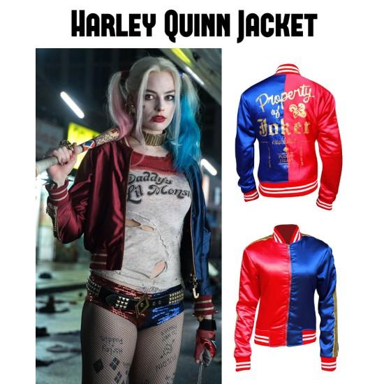 Suicide Squad Film Harley Quinn Jacket