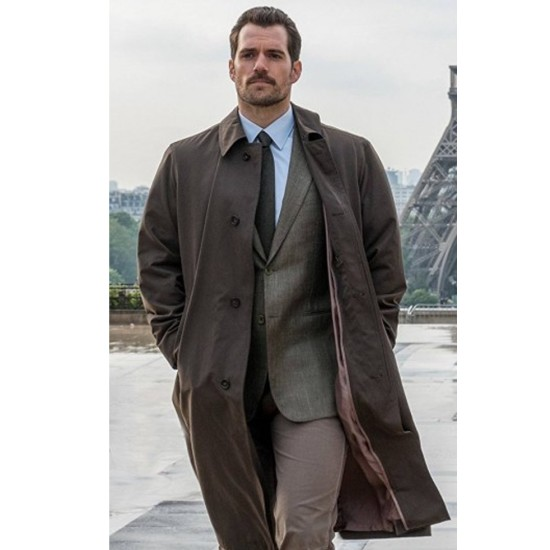 Mission Impossible Fallout Henry Cavill Trench Coat