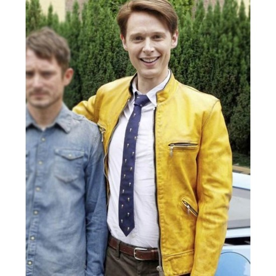 Dirk Gently's Holistic Detective Agency Leather Jacket