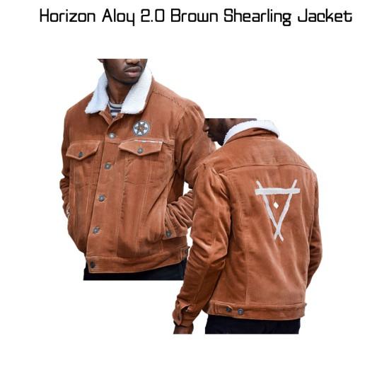 Horizon Aloy 2.0 Brown Shearling Jacket