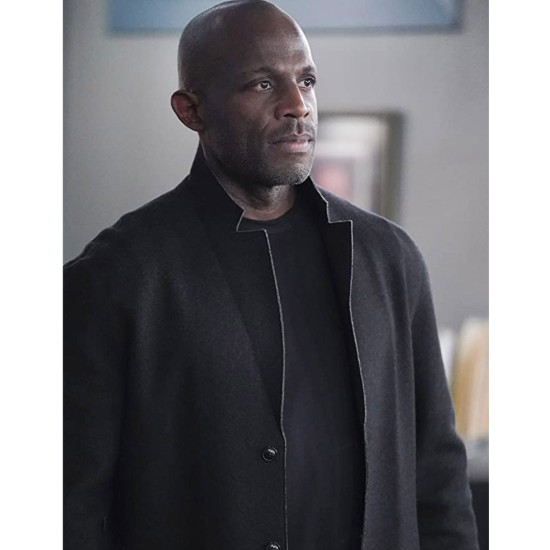 Billy Brown How To Get Away with Murder Black Coat