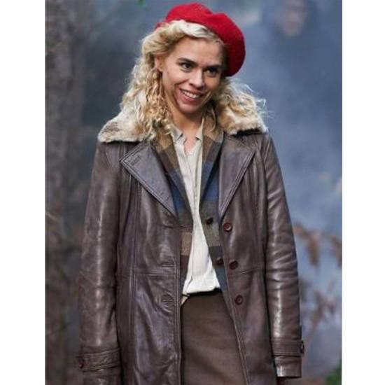 Billie Piper I Hate Suzie Leather Coat