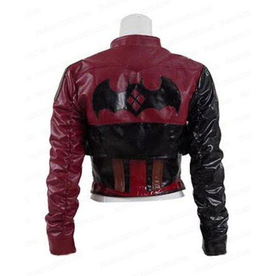 Injustice 2 Harley Quinn Leather Jacket with Vest
