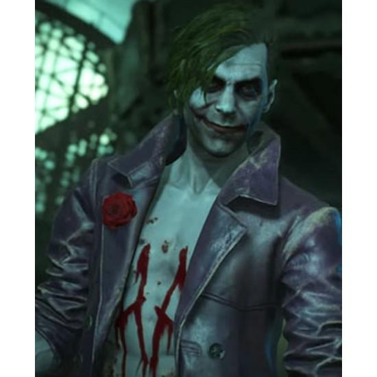 Joker Injustice 2 Leather Jacket