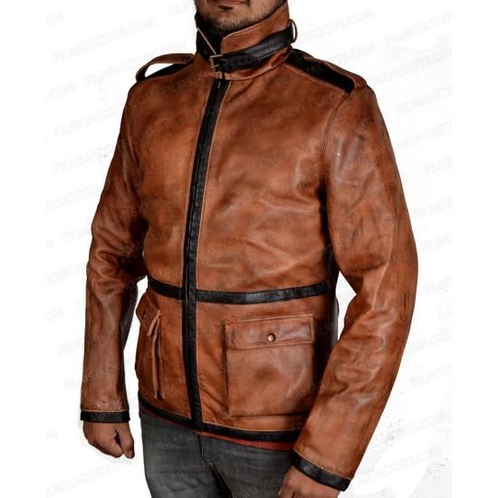 Injustice 2 Red Hood Leather Jacket