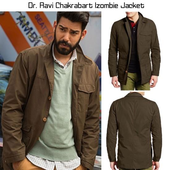Dr. Ravi Chakrabart Izombie Jacket