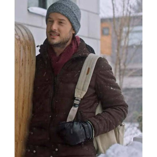 Evan Williams Midnight at the Magnolia Brown Puffer Jacket