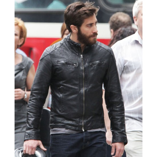 Enemy Film Jake Gyllenhaal Leather Jacket