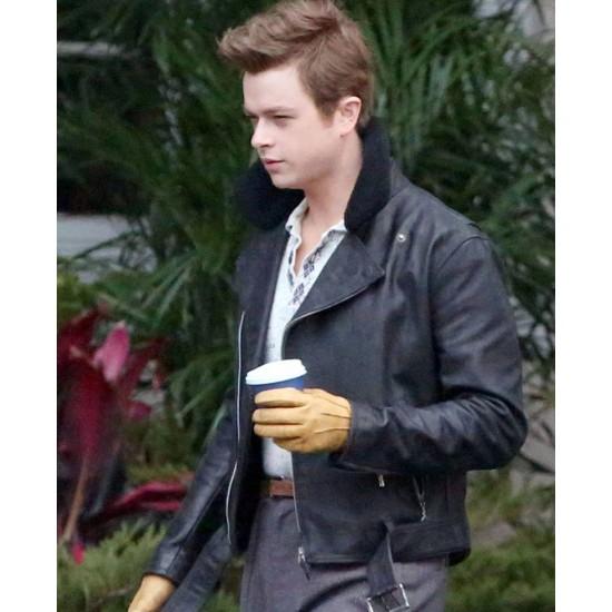 Dane Dehaan Life James Dean Black Leather Jacket